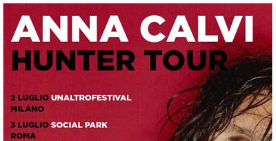 ANNA CALVI: aggiunta una QUINTA DATA al suo tour estivo in Italia!
