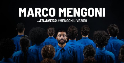 """MARCO MENGONI: """"Atlantico Tour"""" torna in autunno nei palazzetti di tutta Italia e in Europa"""