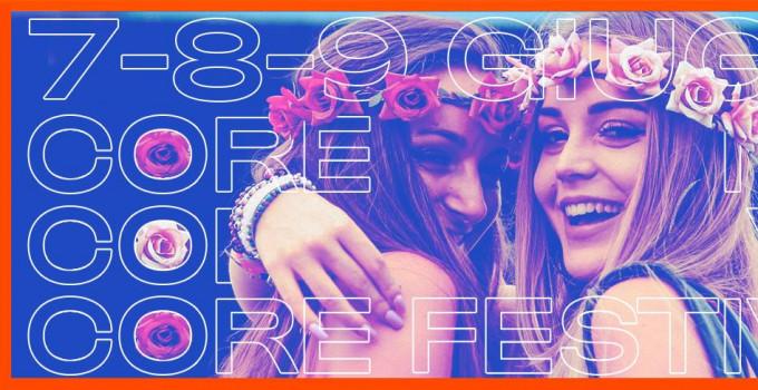 CORE FESTIVAL IL MEGLIO DELLA MUSICA ITALIANA: ECCO LA MAPPA DEL FESTIVAL E LE INFO UTILI