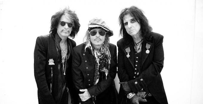 """HOLLYWOOD VAMPIRES: il singolo e il video di """"Heroes"""" con Johnny Depp"""