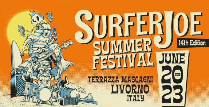 SURFER JOE SUMMER FESTIVAL 2019 Il più importante evento al mondo dedicato alla Surf Music // 20-23 GIUGNO @ TERRAZZA MASCAGNI