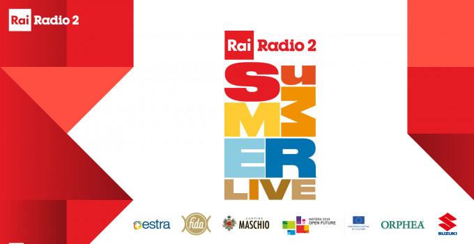 Rai Pubblicità e Radio 2 presentano il Summer Live