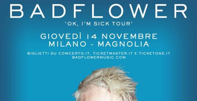 """BADFLOWER in Italia a novembre con il debut album """"OK, I'M SICK"""""""