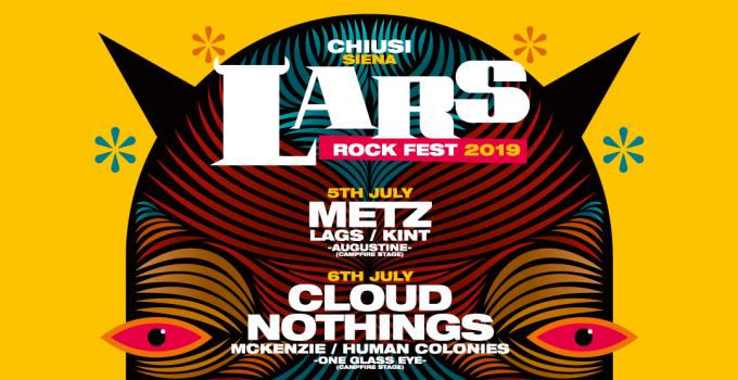 LARS ROCK FEST 2019  Cartellone completo e  tutti gli eventi collegati
