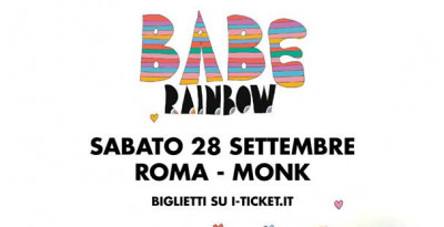 """BABE RAINBOW in concerto a Roma con il nuovo """"Today"""""""