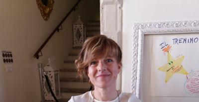 Intervista a Sabrina Ginocchio, autrice della favola Azzurra