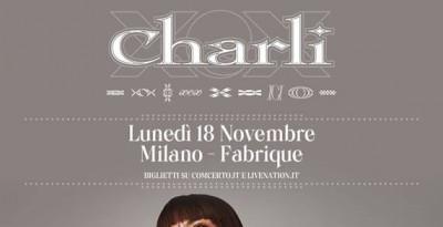 """CHARLI XCX in Italia a novembre con il nuovo lavoro """"Charli""""!"""