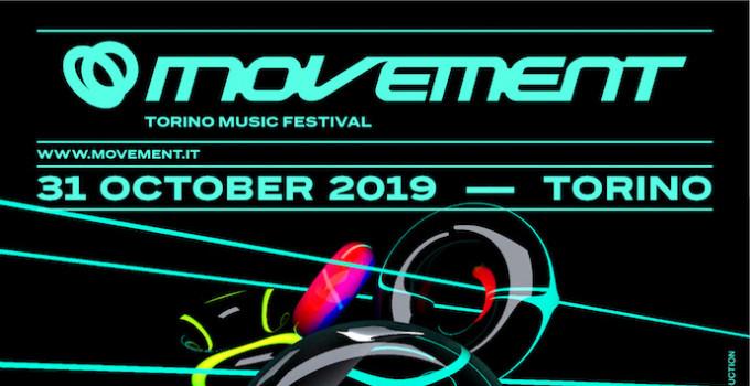 MOVEMENT TORINO 2019 - i primi artisti annunciati