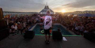 RED BULL PRESENTA OPEN SEA REPUBLIC il festival curato da SALMO sulla nave andata e ritorno da GENOVA a OLBIA