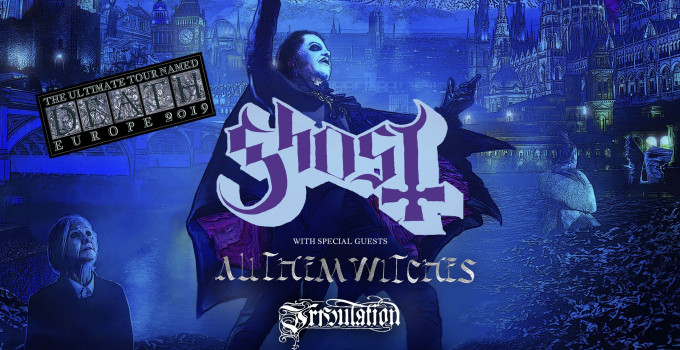 "GHOST annunciano il tour europeo ""The Ultimate Tour Named Death"" - DATA UNICA IN ITALIA!"