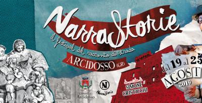 Dal 19 al 25 agosto torna ad Arcidosso (GR) NARRASTORIE, il festival del racconto di strada ideato da Simone Cristicchi