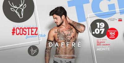 #Costez - Telgate (BG), un weekend hot: 19/7 Luca Dafré, 20/7 Besame