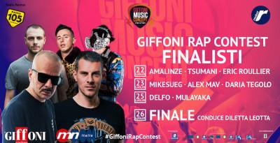 Annunciati gli 8 finalisti del Giffoni Rap Contest 2019