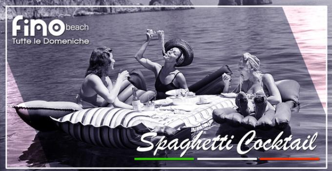 Fino Beach - Golfo Aranci (OT) - Spaghetti Cocktail, la domenica italiana
