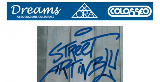 STREET ART IN BLU | al Teatro Colosseo di Torino la Street Art in mostra dal 23 agosto al 29 settembre