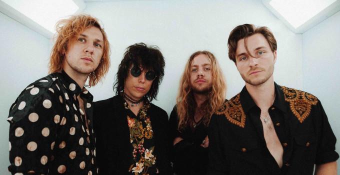 The Struts - tra un mese parte il loro nuovo tour da headliner nel Regno Unito e in Europa.