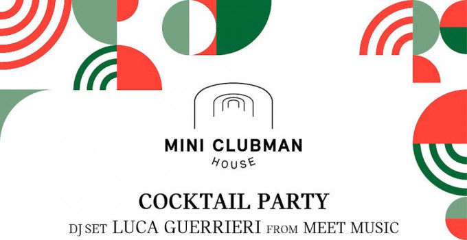 18/9 Luca Guerrieri (Meet Music) protagonista al MINI Clubman House - Milano