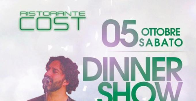 Ristorante Cost Milano, un grande weekend:  4/10 Ricky Acevedo, Dj Franchini; 5/10 Rosario Rannisi