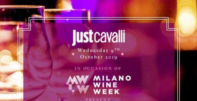 Just Cavalli Milano Wine Week, dal 6 al 13 ottobre a Milano