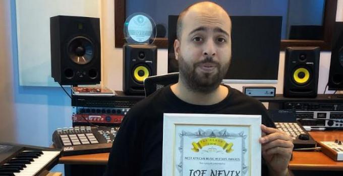 "Vittoria per l'Italiano Joe Nevix ai ""West African Music Awards"""