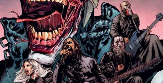 LACUNA COIL - sulla copertina di Batman N°68 della DC Comics