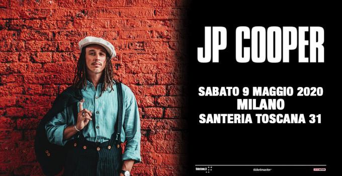 JP COOPER: il cantautore live sabato 9 maggio in Santeria Toscana a Milano con il suo inconfondibile stile indie-rock, gospel