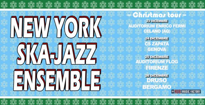 NEW YORK SKA-JAZZ ENSEMBLE 4 DATE PER UN NATALE A SUON DI SKA