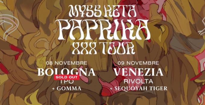 M¥SS KETA: annunciati gli opening act delle ultime date del PAPRIKA XXX TOUR!