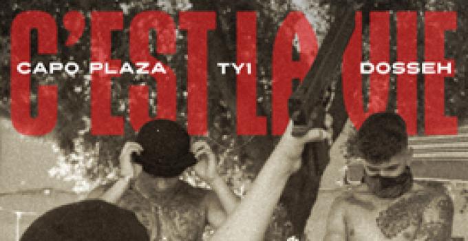 """""""C'est la vie""""    Il nuovo singolo di    TY1    Feat    CAPO PLAZA & DOSSEH    Da Venerdì 8 NOVEMBRE    Disponibile in digitale"""