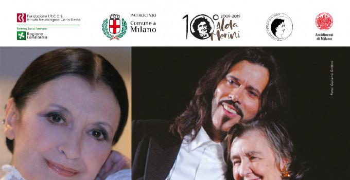 """In occasione del Decennale Alda Merini 2009-2019, Carla FRACCI e Giovanni NUTI nel """"POEMA DELLA CROCE"""" di Alda MERINI"""