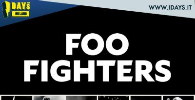 IDAYS 2020: i FOO FIGHTERS sono gli headliner della giornata del 14 giugno