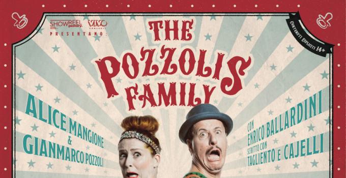 THE POZZOLIS FAMILY  presenta  A-LIVE!  Perché sopravvivere ai figli è una cosa da ridere!