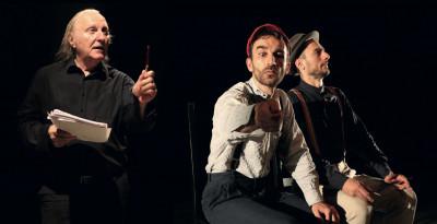 DIALOGHI DI PROFUGHI, ven 6/12 Teatro delle Arti Firenze - Claudio Ascoli nei panni di Brecht