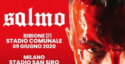 SALMO - Annunciato un nuovo concerto del fuoriclasse del rap italiano, sarà allo stadio di Bibione il 9 giugno