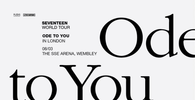 "K-POP SUPERSTARS SEVENTEEN ANNUNCIANO IL TOUR EUROPEO ""ODE TO YOU"""