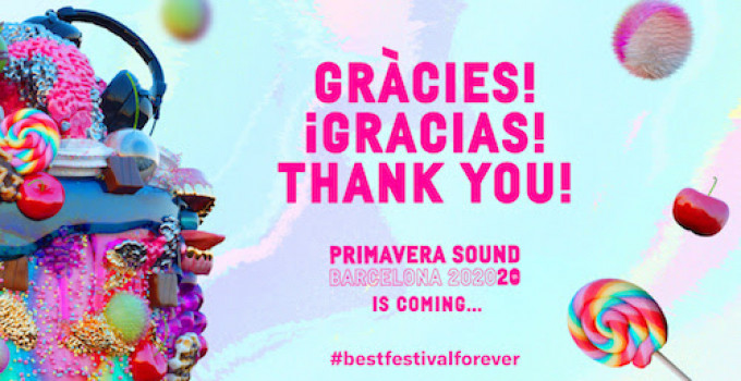 Il Primavera Sound Barcelona 2020 inaugura il suo ventesimo anniversario con i migliori dati di vendita della sua storia