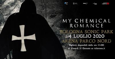 È tutto vero: My Chemical Romance, il grande ritorno! Una data evento a Bologna Sonic Park