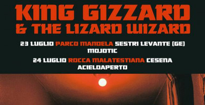 KING GIZZARD & THE LIZARD WIZARD in Italia a luglio per due appuntamenti live!