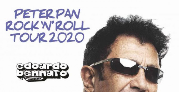 EDOARDO BENNATO PETER PAN ROCK'NROLL TOUR 2020