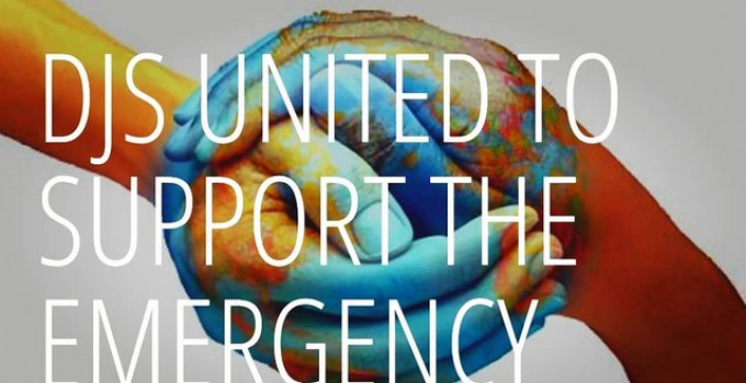 "Ross Roys prende parte a ""DJs United to support the emergency"""