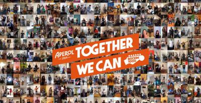 Together We Can: Rockin'1000 e Aperol per la Protezione Civile