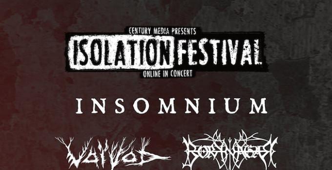 ISOLATION FESTIVAL - Century Media presenta il suo streaming festival