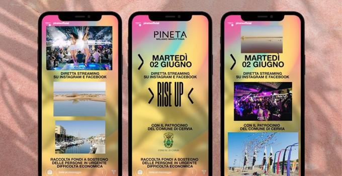 Rise Up: Il Pineta Milano Marittima raccoglie fondi per chi ha bisogno d'aiuto. Mitch B. dà il suo contributo alla raccolta