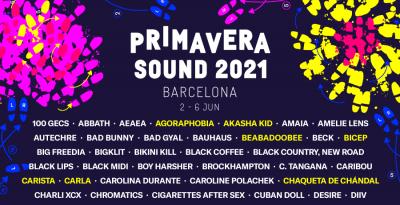 Il Primavera Sound Barcellona 2021 aggiunge 37 nuovi nomi alla line-up e presenta in anteprima la sua piattaforma di streaming