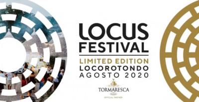 LOCUS FESTIVAL Limited Edition - la PROGRAMMAZIONE COMPLETA - dal 7 al 15 agosto a LOCOROTONDO