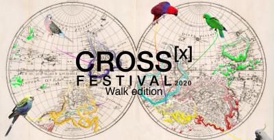 "CROSS FESTIVAL | mar 14 RANIERI, SERLENGA, BRAHIM ""Walking Sassonia"" - sab 18 luglio AZIONI FUORI POSTO ""Oltrepassare"""