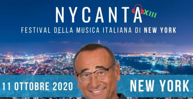 CARLO CONTI PRESENTA IL FESTIVAL DELLA MUSICA DI NEW YORK