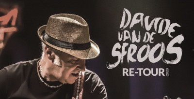 """DAVIDE VAN DE SFROOS AL VIA IL 16 AGOSTO DA TRAVO (PC) RE-TOUR speciale tour estivo in versione """"street"""""""