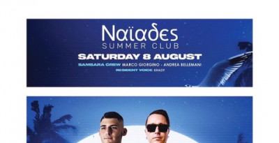 8/8 Samsara On Tour al Naïades Summer Club c/o Villa Giulia - Verbania