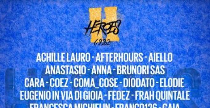 HEROES - 6 SETTEMBRE @ ARENA DI VERONA, altri nomi si aggiungono alla line-up